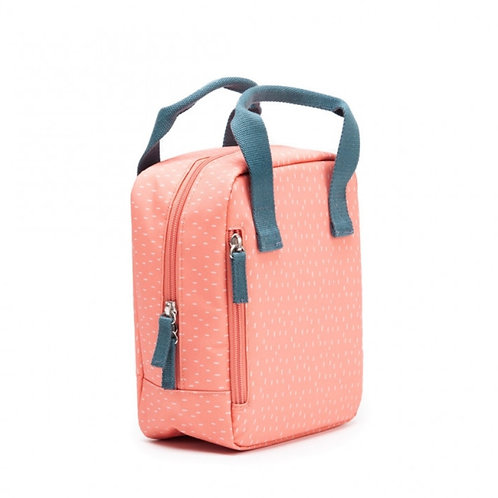 Coral Insulated Lunch Bag