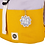 Thumbnail: Roll Top Backpack - Yellow/Light Purple