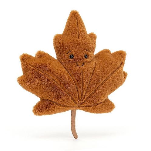 Woodland Maple Leaf Little