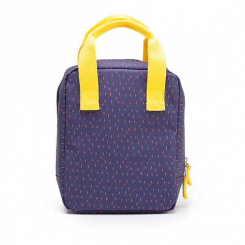 Blue Insulated Lunch Bag