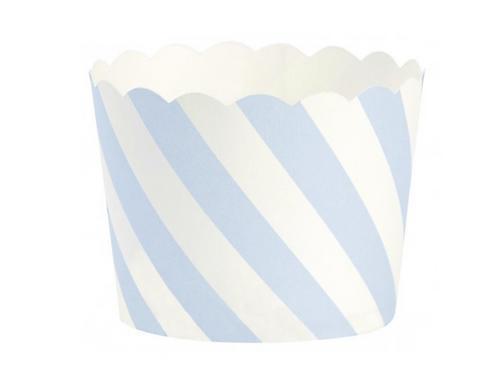 Diagonale Streifen Papier Backbecher