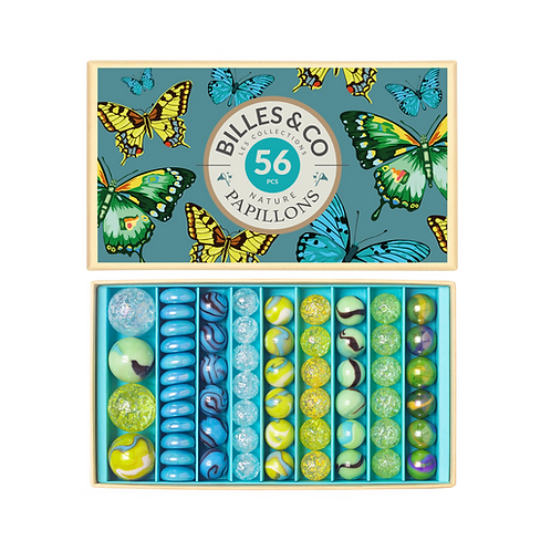 Butterfly Marbles Box