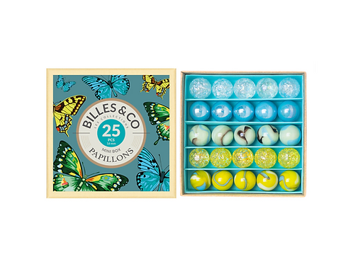 Butterfly Marbles Mini Box