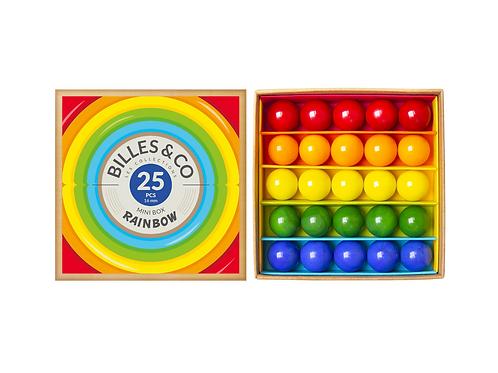 Rainbow Marbles Mini Box