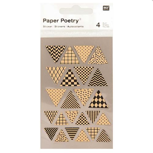 Pennant Kraft Paper Sticker