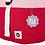 Thumbnail: Rolltop Rucksack - Rot/Rosa
