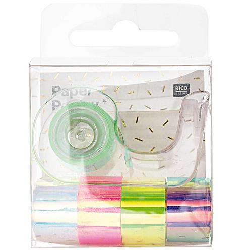 Mini Spiegel Regenbogenklebebänder