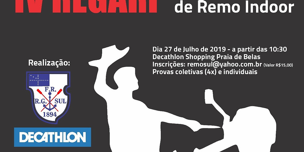 IV REGARI - REGATA GAÚCHA DE REMO INDOOR