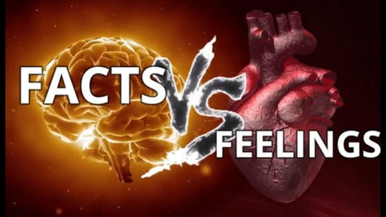 Fact VS Feelings