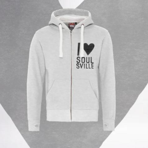 Soulsville Zip Hoodie - Grey