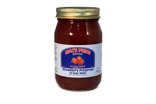Strawberry Preserves - No Sugar Added