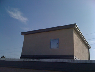 Exterior Application of our Fire Rated Access Enclosure