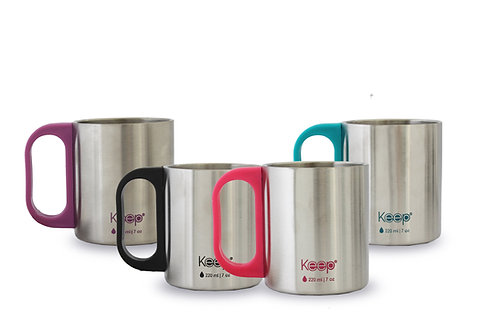 MUG MINI CAFE  KEEP COLORES 220