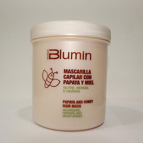 Blumin Mascarilla Capilar Con Papaya Y Miel