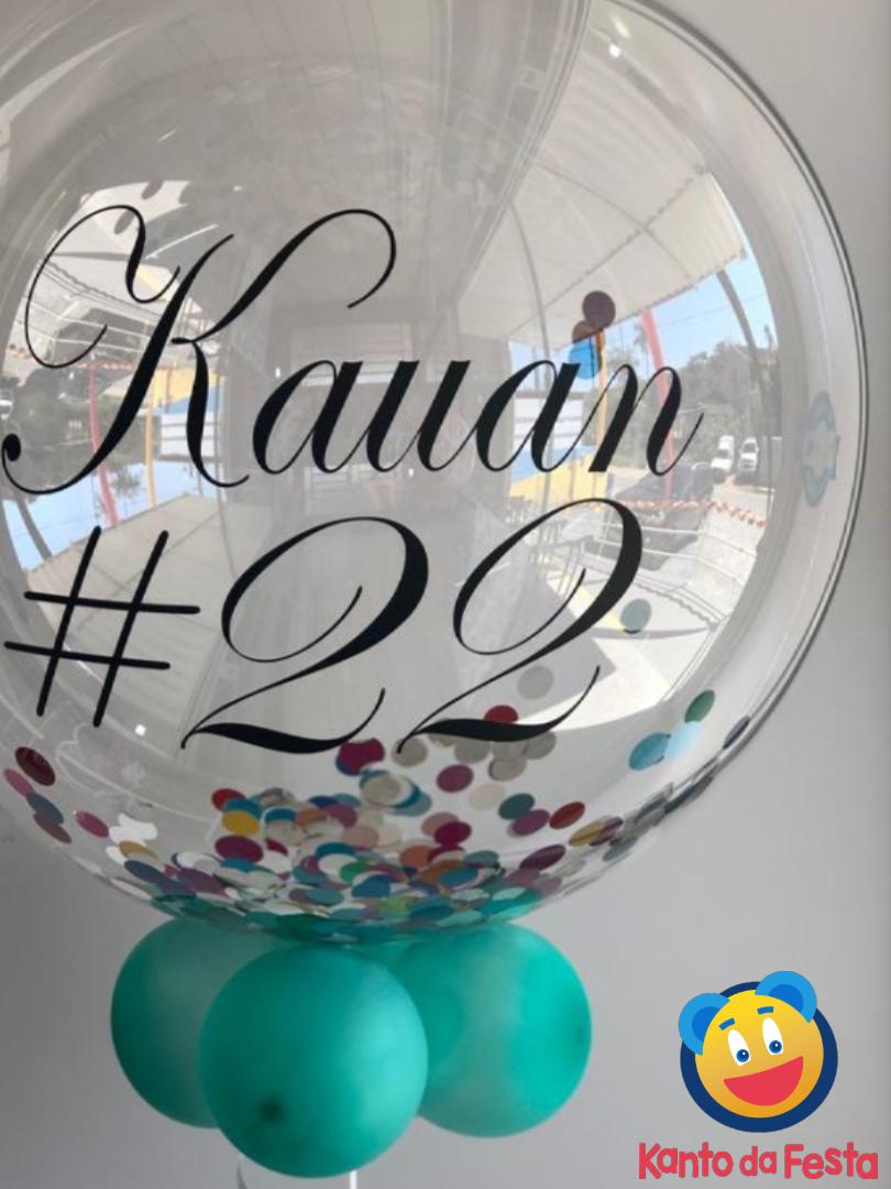 Bubble Personalizado