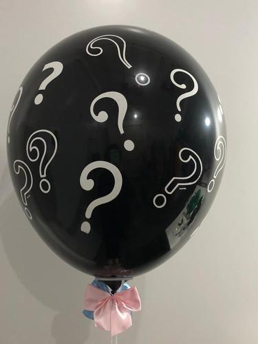 Balão revelação