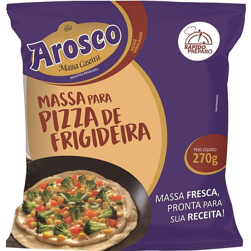 MASSA PARA PIZZA FRIGIDEIRA 270G