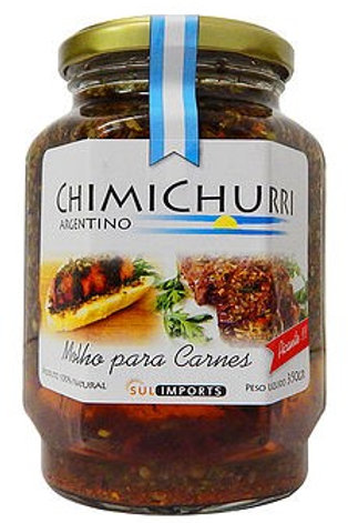 MOLHO CHIMICHURRI ARGENTINO 330G (PICANTE)