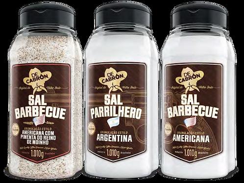SAL PARRILHERO ARGENTINO DE CABRON - 1 KG