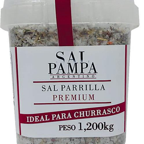 SAL PAMPA PARRILLERA PREMIUM 1,2 KG (COM ESPECIARIAS)