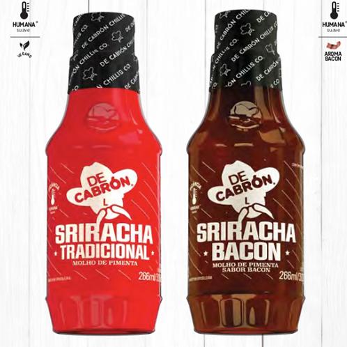 MOLHO SRIRACHA BACON DE CABRON - 266 ML