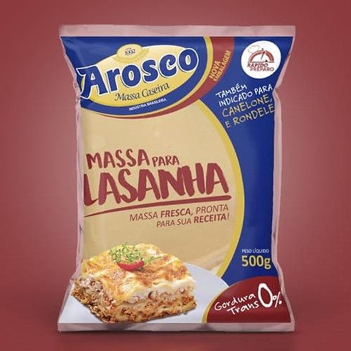 MASSA FRESCA LASANHA 500G