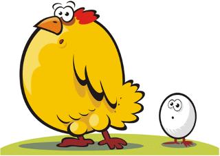 koka ili jaje