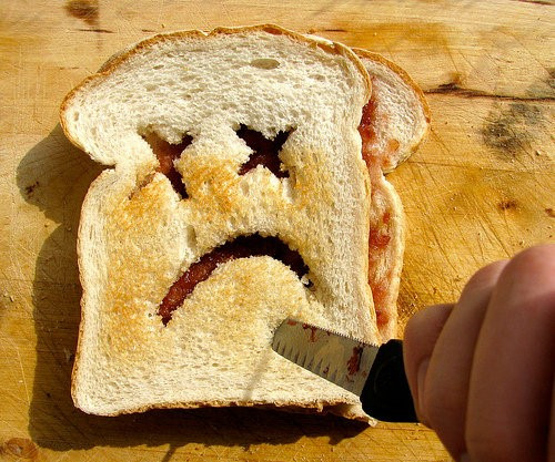 parče hleba loše za zdravlje