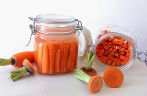 fermentisani štapići šargarepe