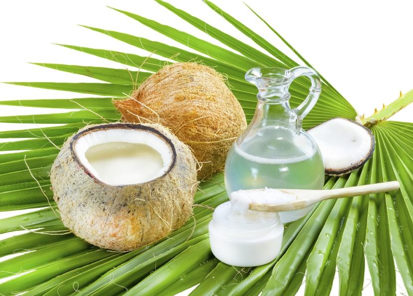 kokos ulje i voda