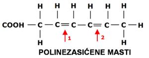 hemijska struktura polinezasicenih masti lchf