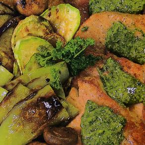 Krmenadle u sosu salsa verde