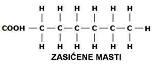 hemijska struktura zasicenih masti lchf