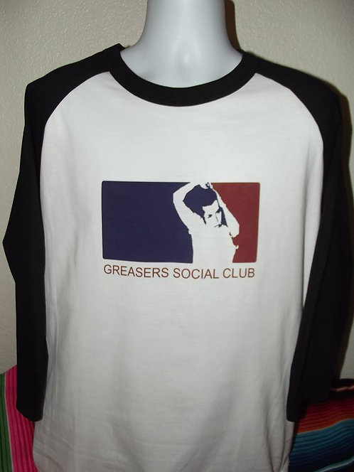 BASEBALL LOGO 3/4 SLEEVE BASEBALL TEE