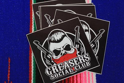GSC Guns Logo Sticker
