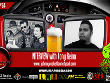 Tony Reina's Interview for Johnny Rocket Launch Pad Podcast