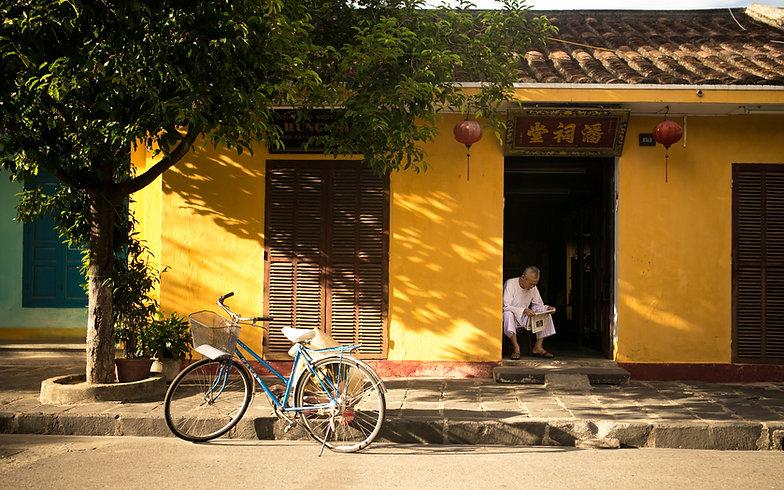 Vélo en Asie