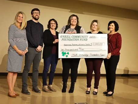 O'Neill Community Foundation Fund Helps Expand Beginnings Pregnancy Resource Center's Pregnancy & Pa