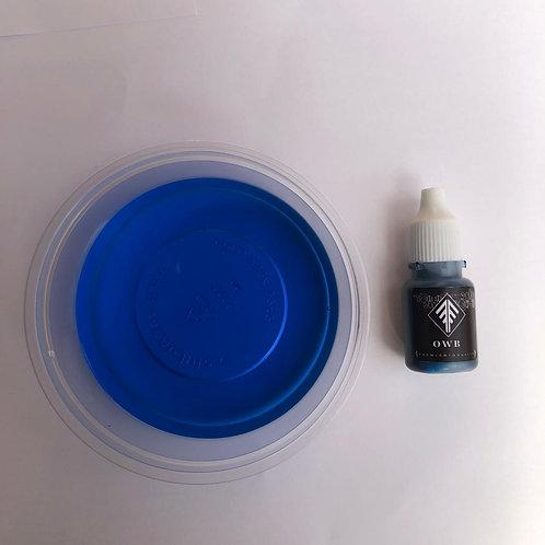 Azul ultramarino liquido