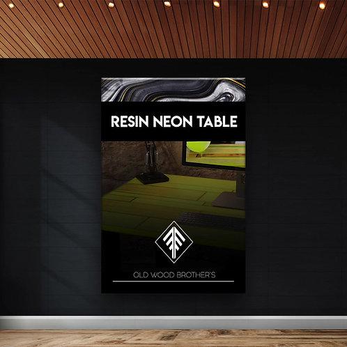 Como hacer una mesa luminiscente - Ebook