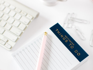 Organizing Your Time: How a 'Later List' Can Help You to Live in the Present