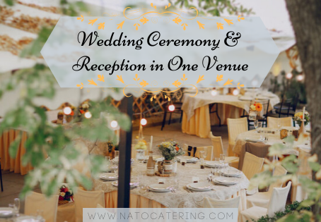 Wedding Ceremony & Reception in One Venue