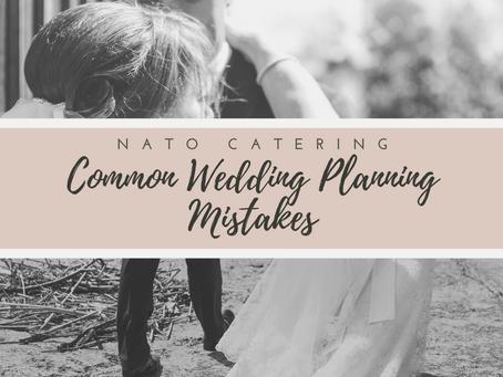 Common Wedding Planning Mistakes
