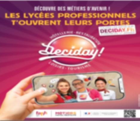 Deciday ! Hôtellerie-Restauration-Loisirs-Tourisme