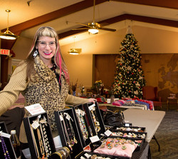 Some crafts at the Christmas Bazaar