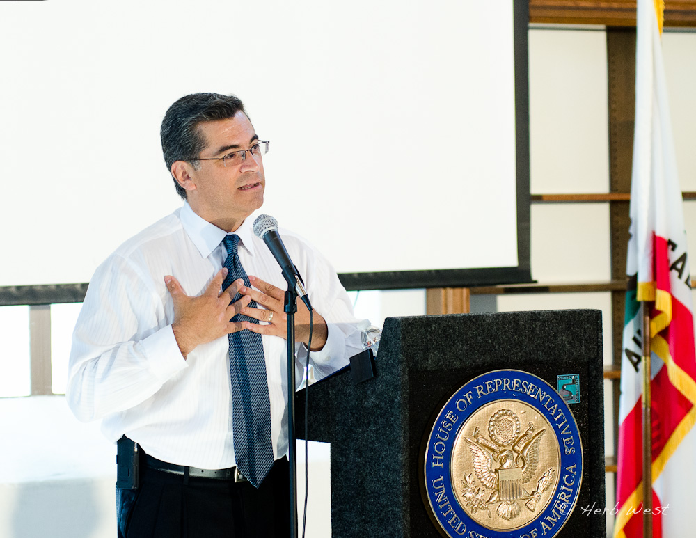 Congressman Becerra in Eagle Rock