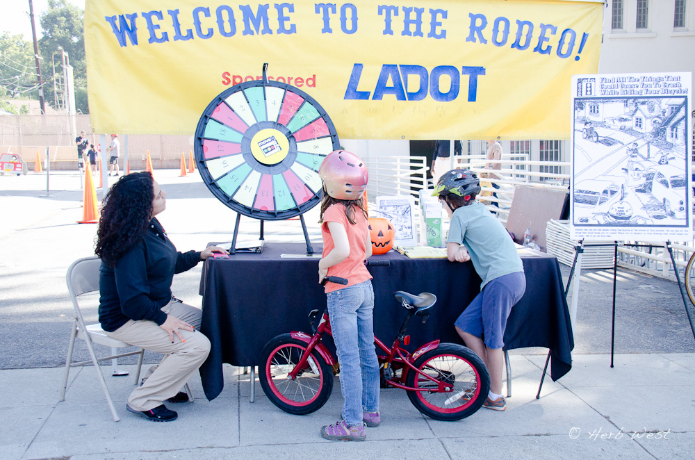 Bike Rodeo in Town