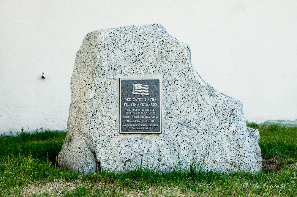 Memorial at Eagle Rock City Hall