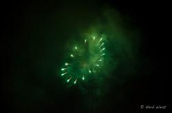 Fireworks over Eagle Rock