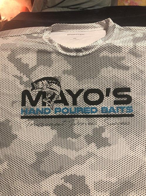 Mayo's High Performance T Shirt Digital Chamo Grey 2XL
